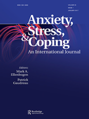 UM-GCMH Research Group Director is appointed as Associate Editor for the journal Anxiety, Stress, and Coping: An International Journal, Impact Factor 1.596